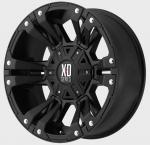 KMC XD822 Mat Black