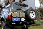 Porte Jerrycan sur KAYMAR HDJ80/HDJ100/KDJ