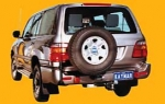 Porte roue KAYMAR gauche sur châssis HDJ 100