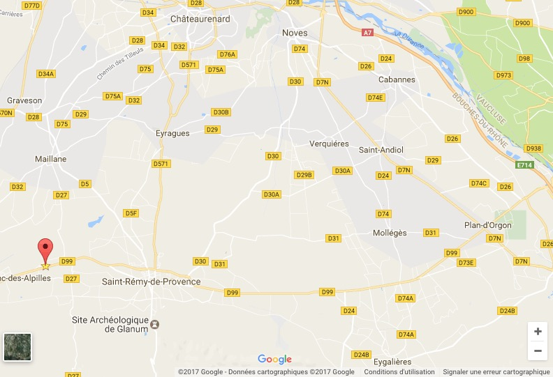 Plan St Remy